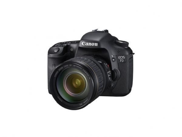 Canon 7D product shot, courtesy Canon, Inc.